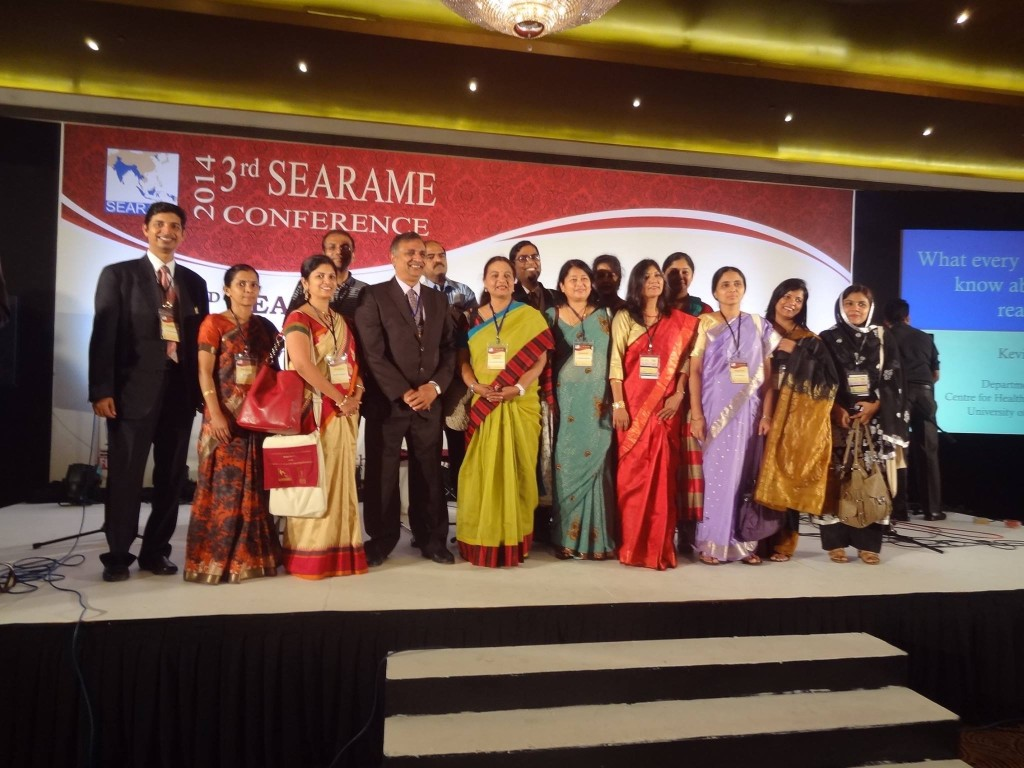PSG FRI Director & Fellows at SEARAME Colombo 2014
